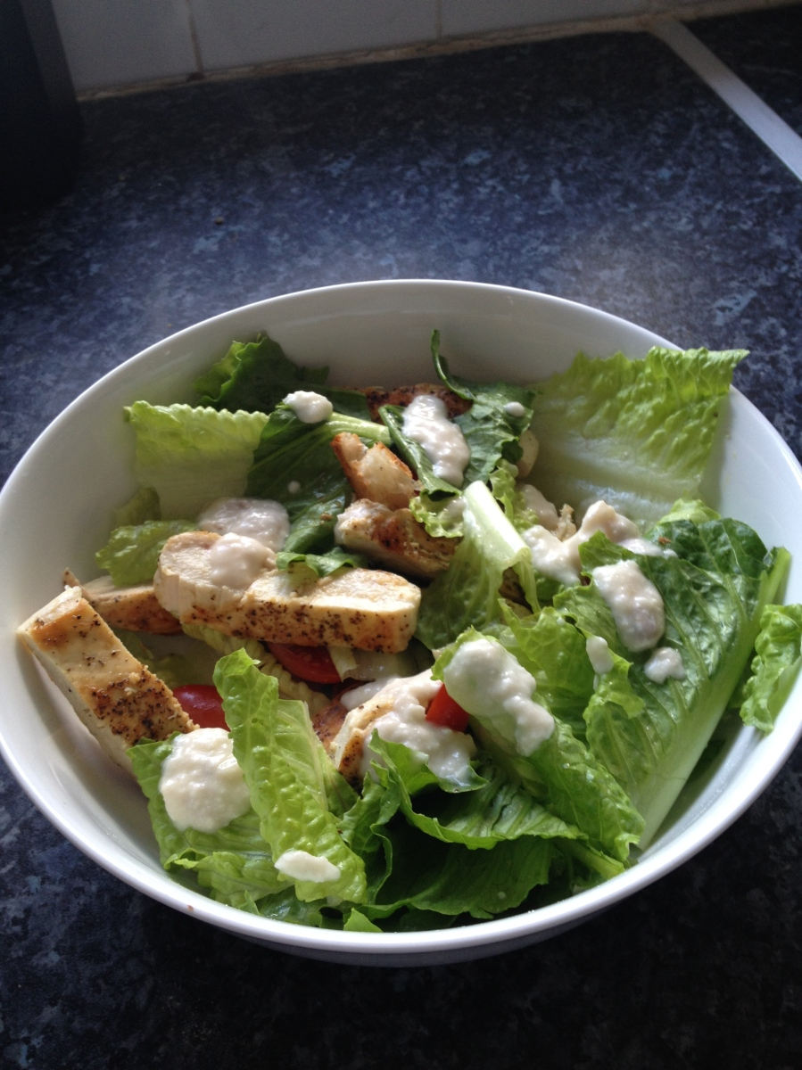 Hairy Bikers Warm Chicken Caesar Salad