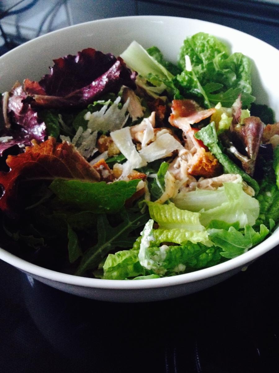 Jamie Oliver's Proper Chicken Caesar Salad