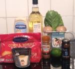 Martha Stewart Caesar Salad with Spicy Shrimp