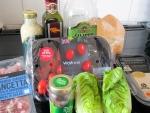 Ingredients for Healthy Caesar Salad