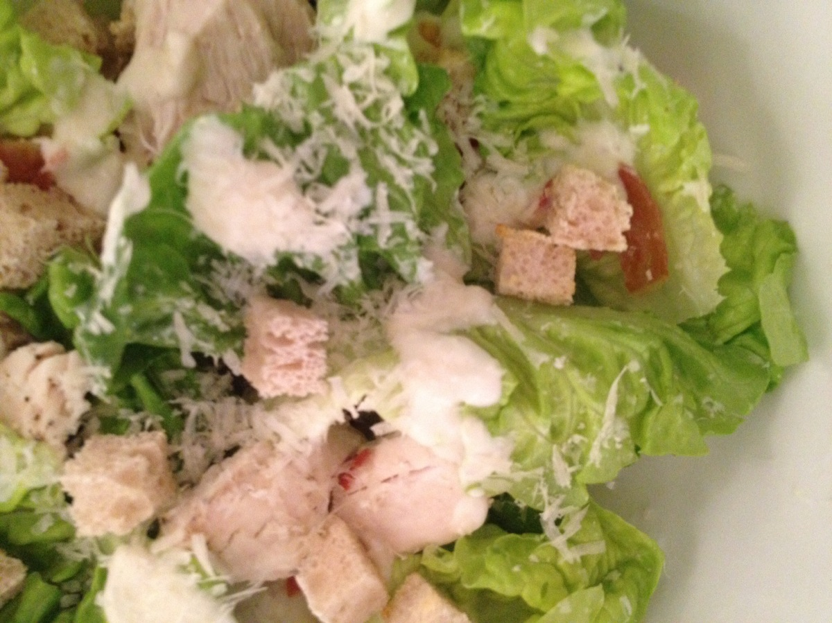 Low-fat Chicken Caesar Salad Recipe - Taste.com.au
