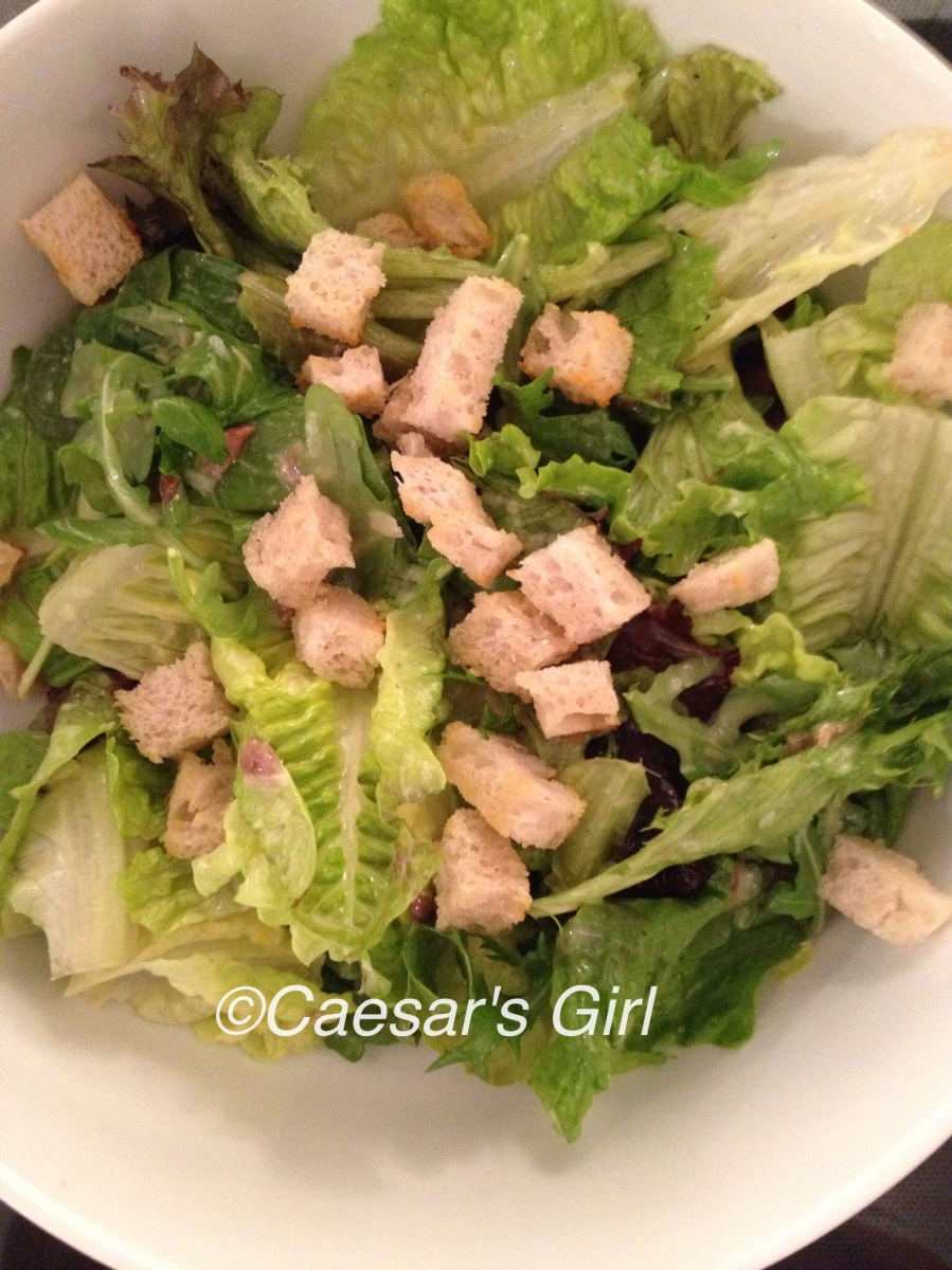 Mixed-leaf Caesar Salad - Delia Online