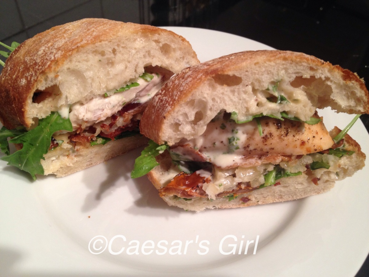 Caesar Club Sandwich - Food Network