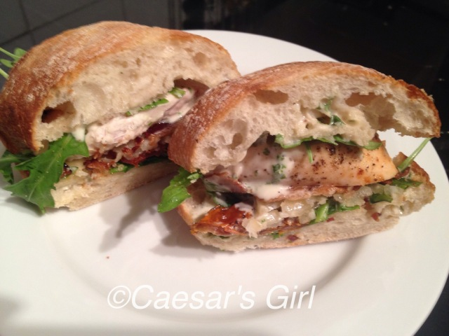 Caesar Club Sandwich