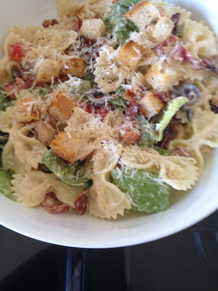 Caesar Pasta Salad Recipes