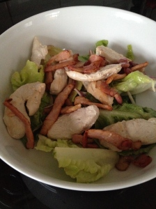 Chicken, Bacon and Lettuce