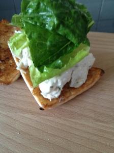 Pulled Chicken Caesar Sandwich