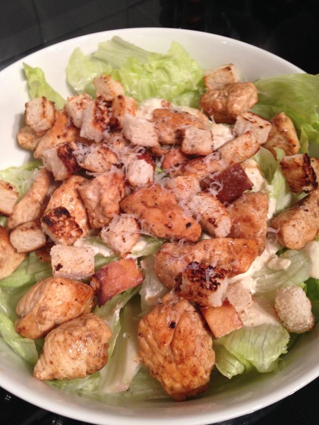Skinny Caesar Salad